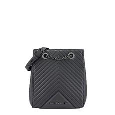 Kabelka Karl Lagerfeld K/Klassik Quilted Leather Bucket