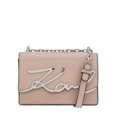 Kabelka Karl Lagerfeld K/Signature Small Shoulder powder pink