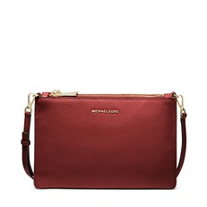 Kabelka Michael Kors Large Pebbled Leather Double-Pouch Crossbody