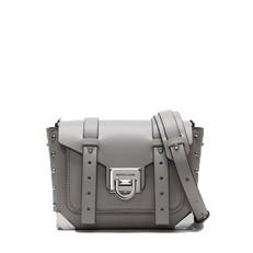 Kabelka Michael Kors Manhattan Small Leather Crossbody pearl grey