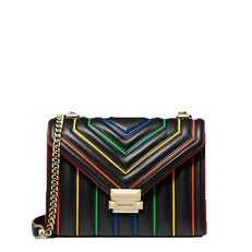 Kabelka Michael Kors Whitney Large Rainbow Quilted Leather Convertible Shoulder