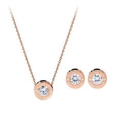 Set náhrdelník a naušnice Michael Kors