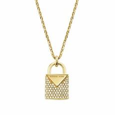 Náhrdelník Michael Kors Lock zlatý