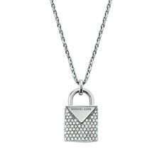 Náhrdelník Michael Kors Lock stříbrný