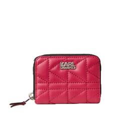 Peněženka Karl Lagerfeld K/Kuilted Small Zip-Around Wallet
