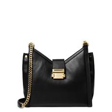 Kabelka Michael Kors Whitney Small Leather Shoulder černá