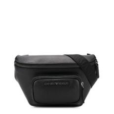 Kožená kabelka Ledvinka Emporio Armani