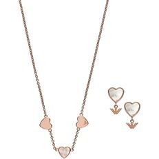 Set náhrdelník a naušnice Emporio Armani