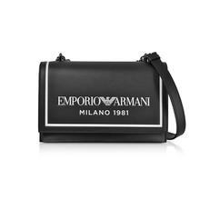 Kožená kabelka Emporio Armani Crossbody