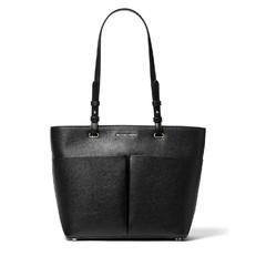 Kabelka Michael Kors Bedford Medium Pebbled Leather Tote černá