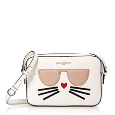 Kabelka Karl Lagerfeld Paris Maybelle Saffiano Choupette Crossbody
