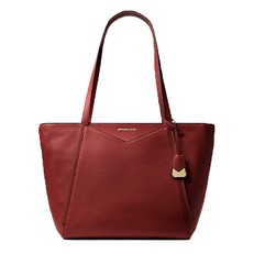 Kabelka Michael Kors Whitney Large Leather Tote brandy