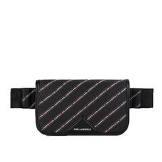 Kabelka ledvinka Karl Lagerfeld K/Stripe Logo Fanny Pack