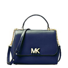 Kabelka Michael Kors Mott Medium Leather Satchel admiral