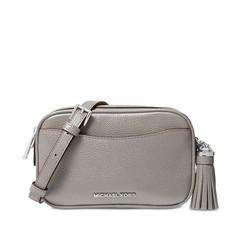 Kabelka ledvinka Michael Kors Pebbled Leather Convertible Belt pearl grey