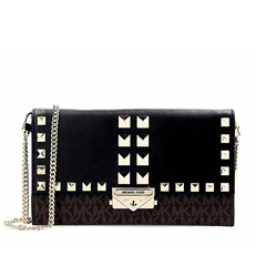 Kabelka Michael Kors Cece Large Studded Leather and Logo Convertible Crossbody
