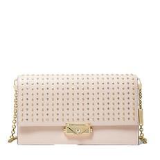 Kabelka Michael Kors Cece Large Studded Leather Convertible Crossbody soft pink