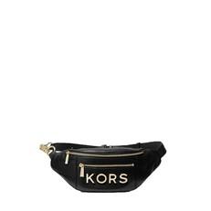 Kabelka ledvinka Michael Kors Medium Embellished Leather Belt