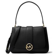 Kabelka Michael Kors Lillie Medium Leather Shoulder černá