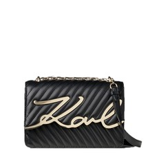 Kabelka Karl Lagerfeld K/Signature Stitch Medium Shoulder