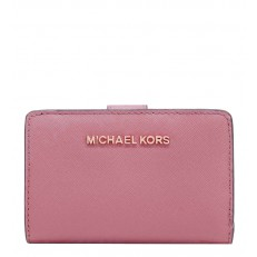 Peněženka Michael Kors Jet Set MD Biflod Wallet rose