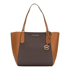 Kabelka Michael Kors Kimberly Logo Tote brown