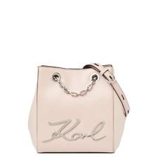 Kabelka Karl Lagerfeld K/Signature Leather Bucket