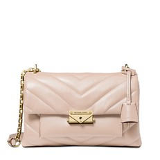 Kabelka Michael Kors Cece Medium Quilted Leather Convertible Shoulder soft pink