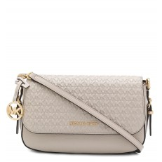 Kabelka Michael Kors Bedford Legacy Embossed Flap Crossbody light cream