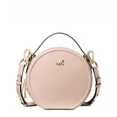 Kabelka Michael Kors Delaney Medium Leather Canteen Crossbody soft pink