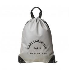 Kabelka batoh Karl Lagerfeld Rue St Guillaume Flat Backpack