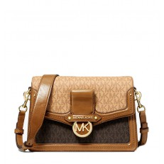 Kabelka Michael Kors Jessie Medium Two-Tone Logo Shoulder