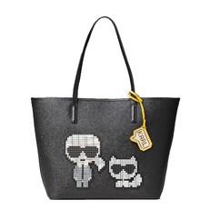Kabelka Karl Lagerfeld K/Pixel Karl & Choupette Tote