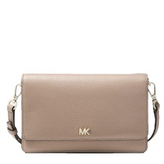 Kabelka Michael Kors Pebbled Leather Convertible Crossbody truffle