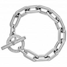 Náramek Michael Kors Cityscape Chains stříbrný