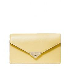Kabelka Michael Kors Grace Medium Patent Leather Envelope Clutch