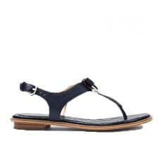 Kožené sandálky Michael Kors Alice Sandal admiral