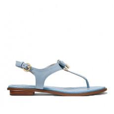 Kožené sandálky Michael Kors Alice Sandal pale blue
