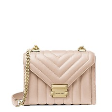 Kabelka Michael Kors Whitney Small Quilted Leather Convertible Shoulder soft pink