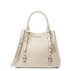 Kabelka Michael Kors Bedford Legacy Large Pebbled Leather Tote light cream