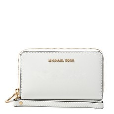 Peněženka Michael Kors Jet Set Travel Large Smartphone Wristlet optic white