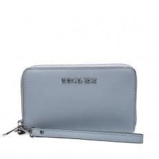 Peněženka Michael Kors Jet Set Travel Large Smartphone Wristlet dusty blu