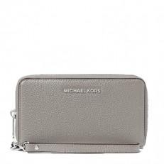 Peněženka Michael Kors Mercer Large Smartphone Wristlet pearl grey
