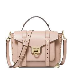 Kabelka Michael Kors Manhattan Medium Leather Satchel soft pink