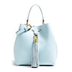 Kožená kabelka Guess Sophie