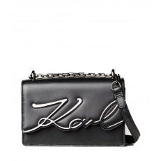 Kabelka Karl Lagerfeld K/Signature Small Shoulder černá