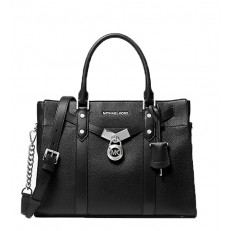 Kabelka Michael Kors Nouveau Hamilton Large Pebbled Leather Satchel