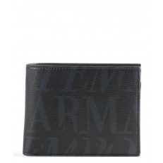 Peněženka Emporio Armani černá/šedá