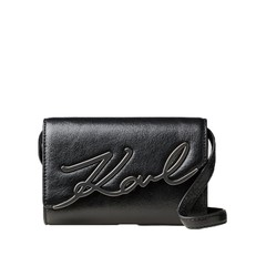 Kabelka Karl Lagerfeld K/Signature Belt Metallic
