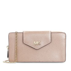 Kabelka Michael Kors Leather Small Convertible Crossbody rose gold